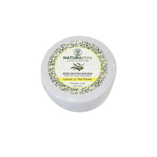 Body butter Lemon and Tea flowers Travel size 100ml