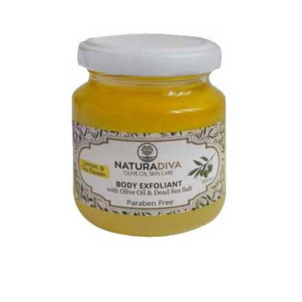 Body scrub Lemon and Tea flower