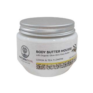 Body butter Lemon and Tea flowers 200ml