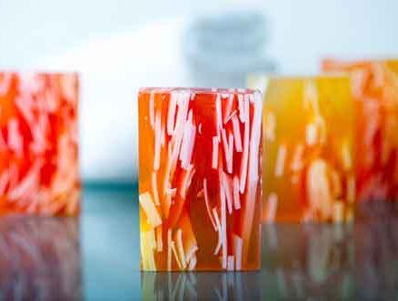 Σαπούνι γλυκερίνης Apple & White Heather